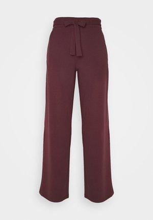 JDYCURLEY CATIA WIDE PANT - Trousers - sassafras