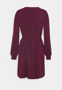 Vero Moda - VMCALI SHORT DRESS  - Day dress - winetasting - 1