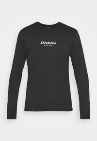 CENTRAL TEE - Long sleeved top - black