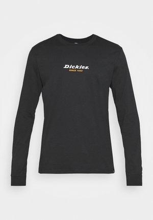 CENTRAL TEE - Långärmad tröja - black