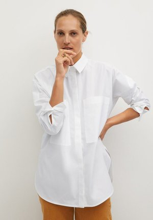 WILLY - Button-down blouse - white