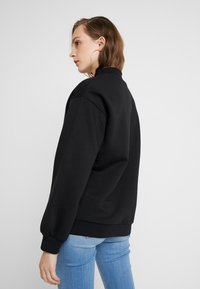 Even&Odd - High Collar Sweatshirt - Mikina - black - 2