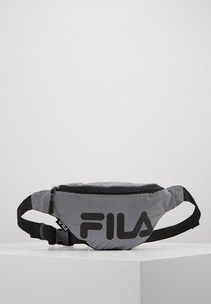WAIST BAG SLIM REFLECTIVE - Bum bag - silver