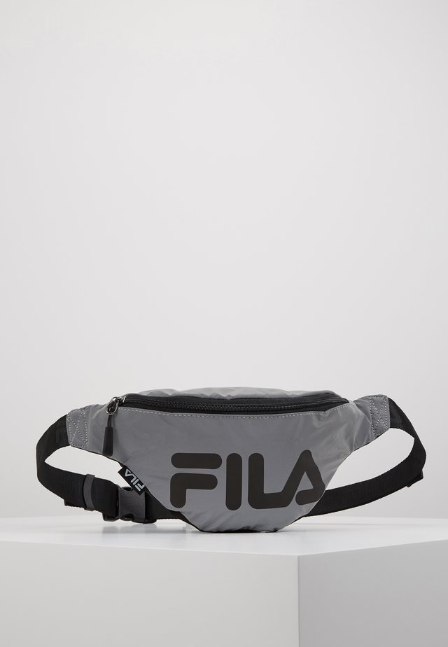 WAIST BAG SLIM REFLECTIVE - Bum bag - silver