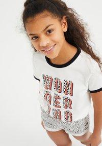 WE Fashion - Camiseta estampada - white - 1