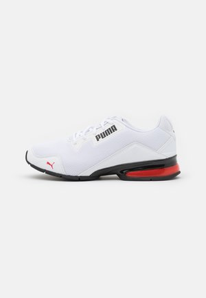 VT TECH - Sports shoes - white/high risk red/black
