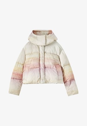 Winter jacket - mottled purple