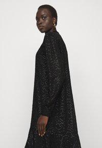 Bruuns Bazaar - ALEXANDRIA CAMARI DRESS - Shirt dress - black - 3