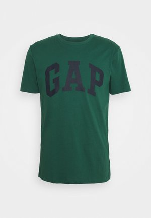 BASIC LOGO - Camiseta estampada - mysterious green