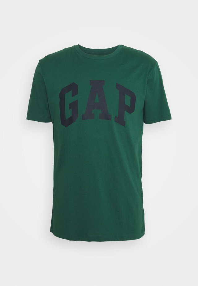 BASIC LOGO - T-shirt z nadrukiem - mysterious green