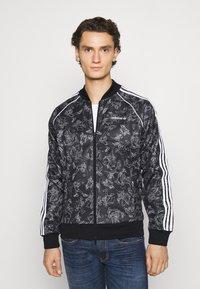adidas Originals - GOOFY - Bomber Jacket - black/white - 0