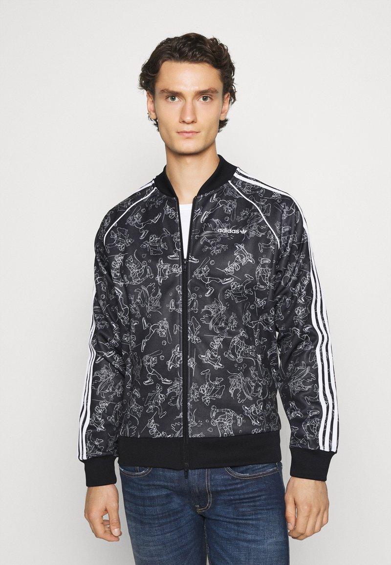 adidas Originals - GOOFY - Bomber Jacket - black/white