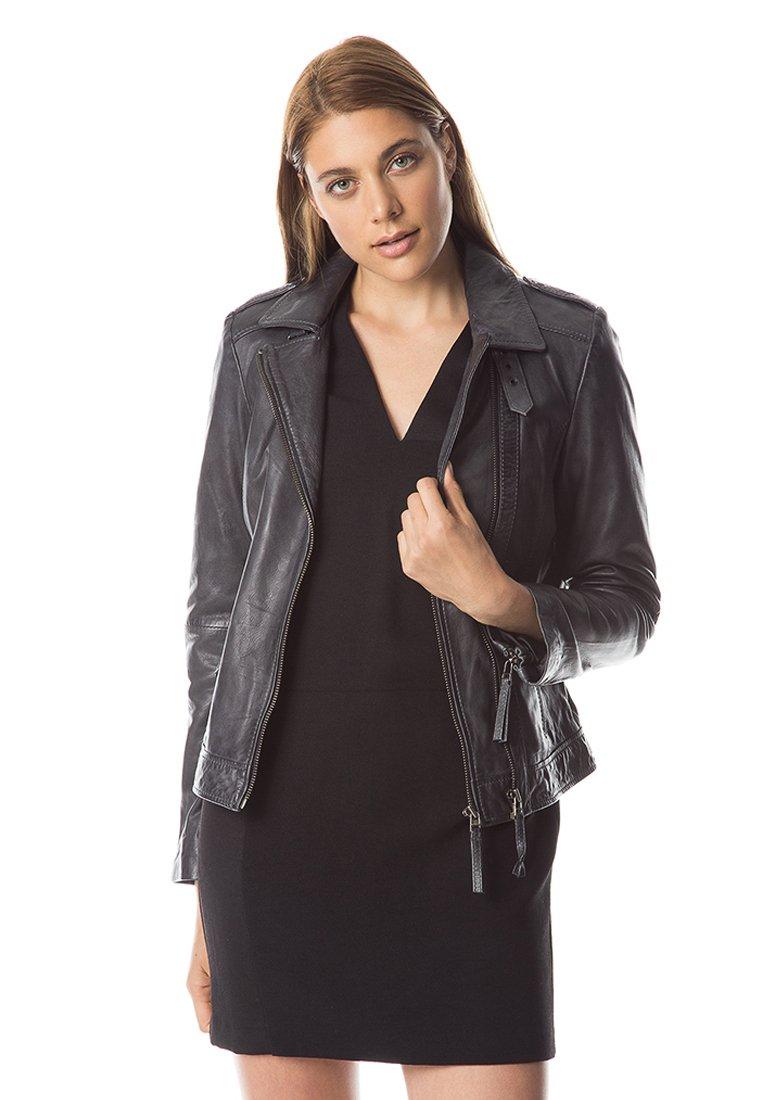 Femme MUBI - Veste en cuir