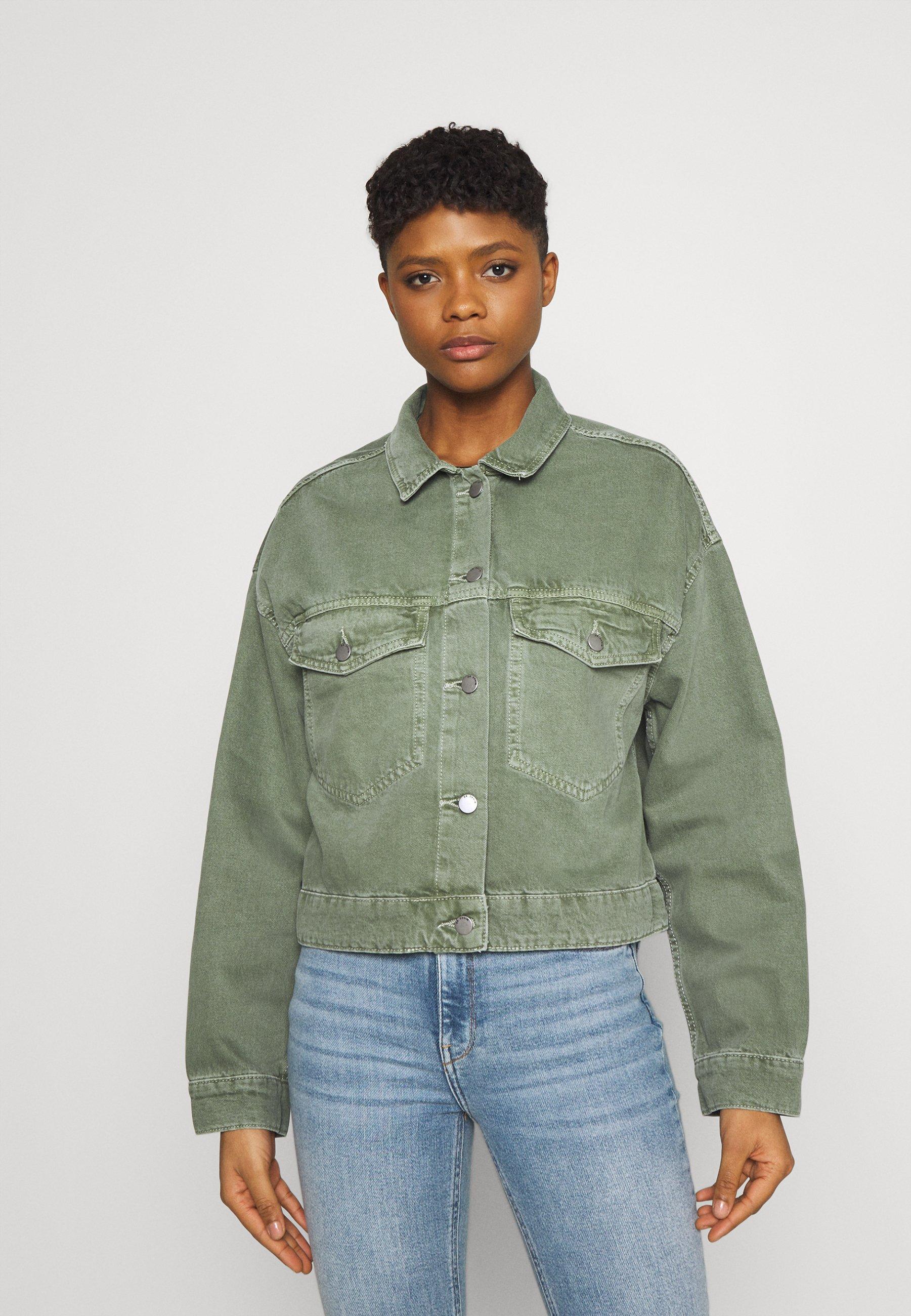 Women KHALILA CROPPED JACK - Denim jacket