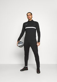 Nike Performance - Sports shirt - black/white - 1