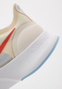 Nike Performance - SUPERREP GO - Sports shoes - pale ivory/team orange/psychic blue/white - 5