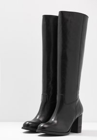 Lazamani - Høje støvler/ Støvler - black - 4