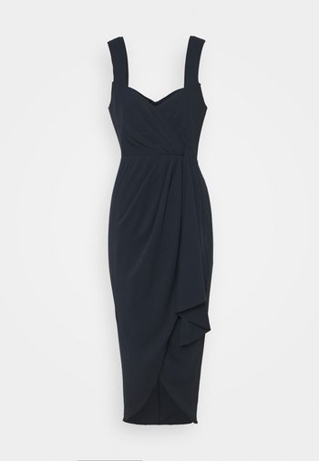 HADLEY WATERFALL MIDI DRESS - Cocktail dress / Party dress - navy