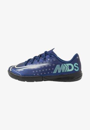 MERCURIAL JR VAPOR 13 ACADEMY IC UNISEX - Indoor football boots - blue void/metallic silver/white/black