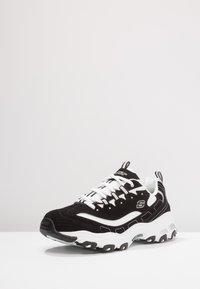 Skechers Sport - DLITES - Sneakers basse - black/white - 2