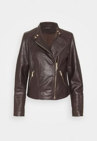 Esprit Collection - Kožená bunda - bordeaux red - 1