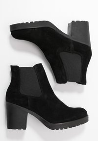 Selected Femme - SLFFILLIPPA CHELSEA - High heeled ankle boots - black - 3
