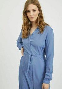 Vila - Shirt dress - colony blue - 3