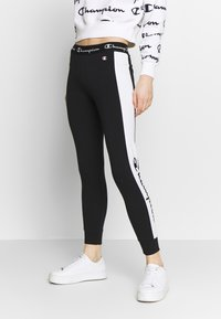 Champion - PANTS - Tracksuit bottoms - black - 0