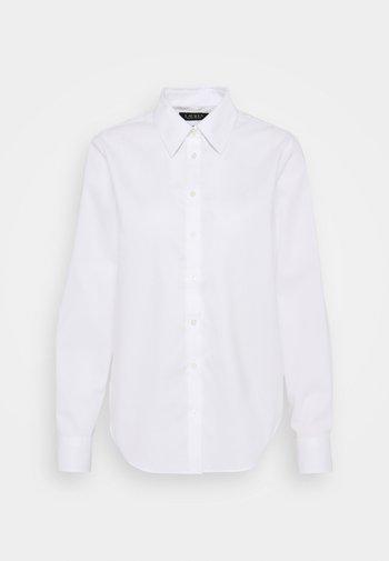 AARON-LONG SLEEVE-SHIRT - Košile - white