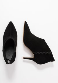 Zign - High heeled ankle boots - black - 3