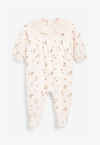 STRAWBERRY VELOUR - Sleep suit - pink