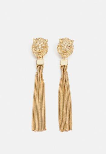 PCPETINA EARRINGS - Øredobber - gold-coloured