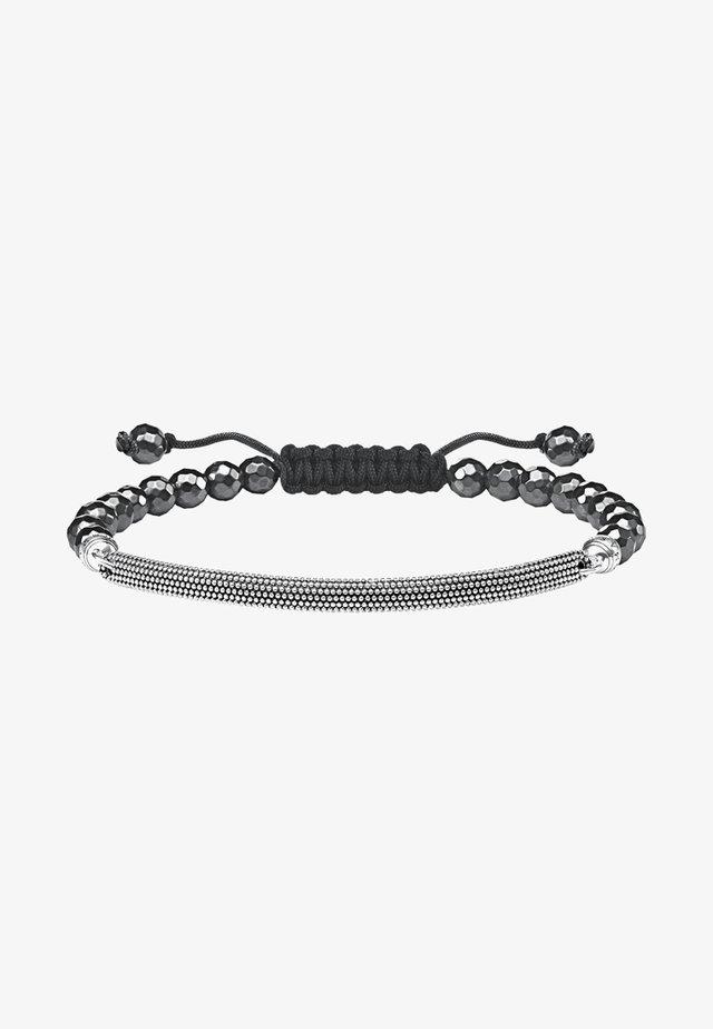 KATHMANDU  - Armband - silver-coloured/black