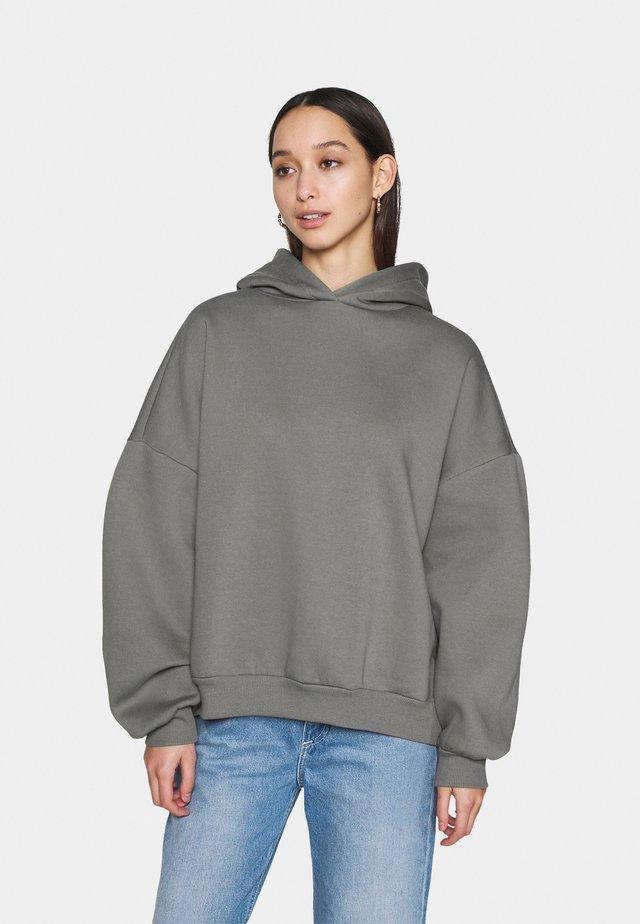 PERFECT CHUNKY HOODIE - Bluza z kapturem - gray