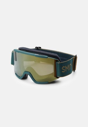 SQUAD - Ski goggles - sun black/gold mirror yellow