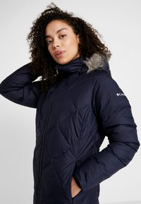 Columbia - ICY HEIGHTS MID LENGTH JACKET - Down coat - dark nocturnal - 7