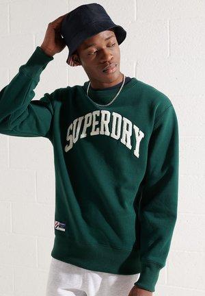VARSITY ARCH - Sweatshirt - enamel green