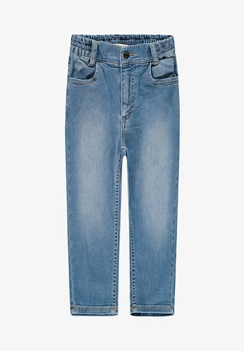 Straight leg jeans - blue light washed