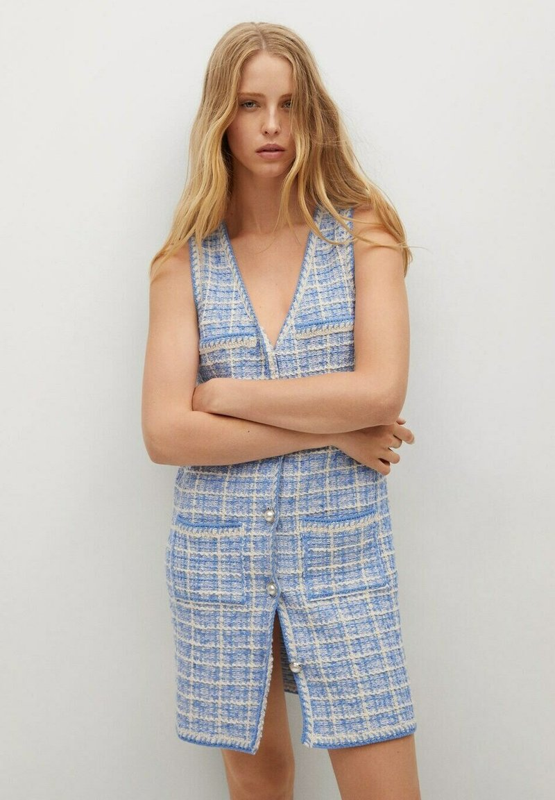 Mango - Jumper dress - bleu