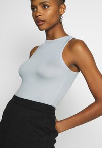 Nly by Nelly - A SIMPLE TANK - Top - blue/gray - 4