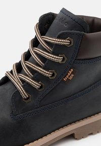 Froddo - MONO LACES WARM TEX MEDIUM FIT UNISEX - Lace-up ankle boots - dark blue - 5