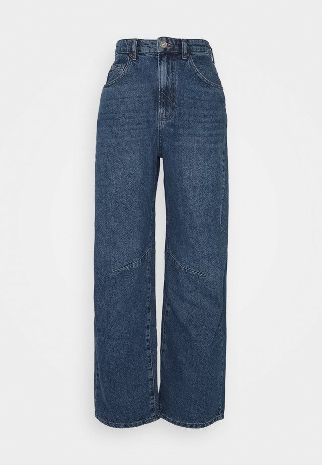 LOGAN BARELL LEG CARPENTER  - Jeansy Relaxed Fit - dark vintage