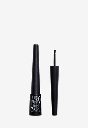 SLANTED PRO LINER - Eyeliner - 002 matt black