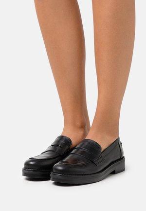 MIRNA - Nazouvací boty - noir