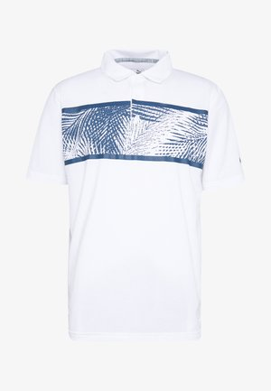 PALMS - Sports shirt - bright white/dark denim