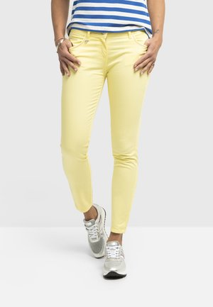 Jeans Skinny Fit - giallo