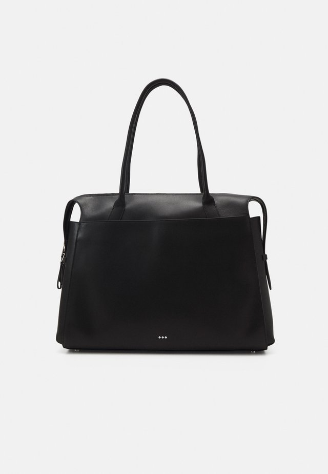 CROWN DAY BAG - Sac ordinateur - black