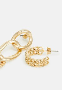 Pieces - PCNILLY EARRINGS 2 PACK - Earrings - gold-coloured - 2
