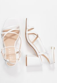 Office Wide Fit - MARGATE - Sandals - white - 3