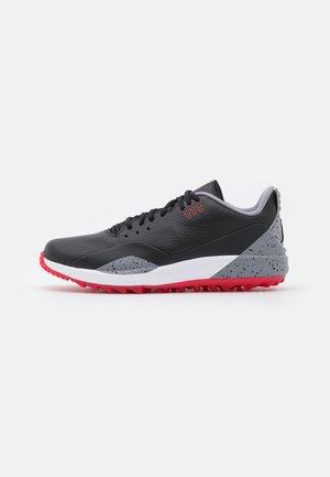 JORDAN ADG 3 - Golf shoes - black/fire/cement grey